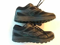 Boys Big Kid Size 4.5 Wide Saucony Cohesion 12 Sneakers Blac