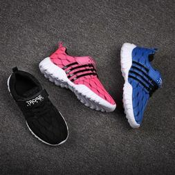Boys Girls Casual Shoes Kids Athletic Sports Sneakers walk F