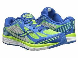Saucony Boys Kinvara 5 Sneaker ,Blue/Green,12.5 M US Little
