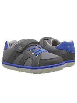 Stride Rite Boys' Srtech Noe Sneaker  Grey Blue 11 M