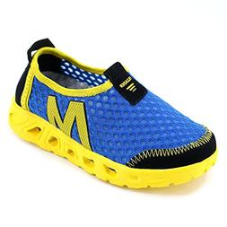 ALEADER Boys Water Shoes Breathable Mesh Sport Sneakers Runn