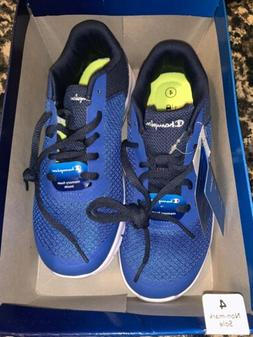 Champion Boys Youth Cushion Fit Blue Tennis Shoes Sneakers S