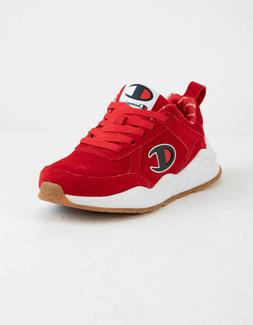 Brand New CHAMPION Men's 93Eighteen Red Scarlet Suede Shoes