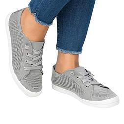 Huiyuzhi Womens Fashion Breathable Sneakers Casual Lightweig
