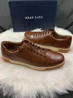 Cole Haan Brown Shoes Casual Berkley Sneaker C30745 Mens Siz