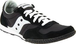 Saucony Originals Men's Bullet Classic Sneaker,Black/Grey,9.