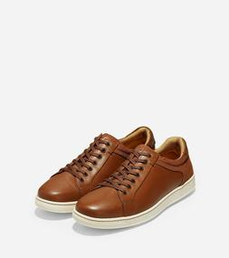 CLEARANCE!!! COLE HAAN C26503 MEN'S SHAPLEY SNEAKER II TAN L