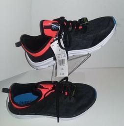 C9 Champion Boys Black/Orange Connect 5 Knit Running Shoe Sn