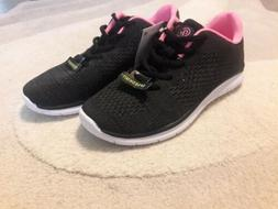 a1ab6e33fa0051 CHAMPION C9 FOCUS 3 GIRLS ATHLETIC SHOES BLACK PINK SNEAKE