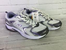 C9 Champion Womens Size 10 Commit White Silver Cushioned Run
