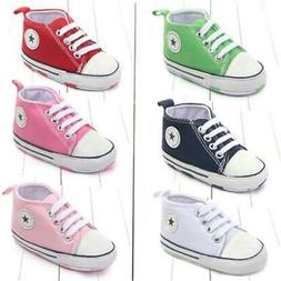 Canvas Classic Sports Sneakers For Newborns, Infants and Tod