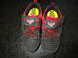 Disney Cars Baby Toddler Boy Light Up Strap Athletic Shoes S
