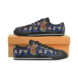 Cartoon Scooby Doo Fashion Low Top Sneakers Classic Canvas S