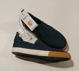 Cat & Jack Boy's Blue Janson Slip On Sneakers Size 1 NWT