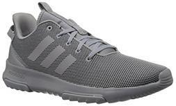 adidas Men's Cf Racer Tr Sneaker, Grey Heather/Black, 10.5 M