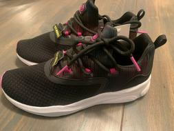 Champion C9 Girls Black Legend Sneakers Size 2 and Size 4