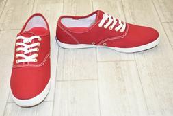 Keds Men's Champion Original Canvas Sneaker,Red,8.5 M US