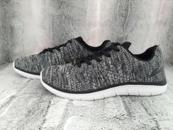 Champion Speedknit Mesh Boys Sneakers/ Shoes Black/Gray Size