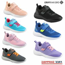 DREAM PAIRS Kids Sneakers Girls Boys Running Shoes Outdoor I