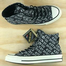 Converse Chuck Taylor 70 High Top Gore Tex GTX Black White S