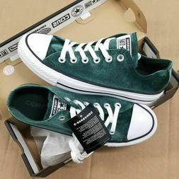Converse Chuck Taylor All Star Ox Deep Emerald Green Velvet