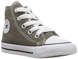 Converse Boys' Chuck Taylor All Star Hi Top  - Charcoal - 8