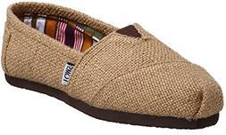 Toms Classic Natural Burlap Womens Canvas Espadrilles Shoes
