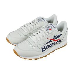 Reebok Classic Leather 3Am Mens White Leather Low Top Sneake