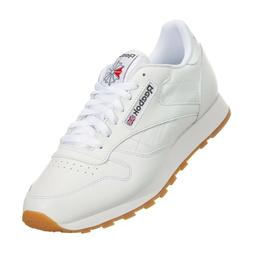 Reebok Classic Leather CL 49797 White Red Gum Fashion Mens S