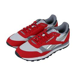 Reebok Classic Leather CN3778 Mens Red Casual Lace Up Low To