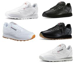 Reebok Classic Leather White, Grey, Black, Gum Sneakers Trai