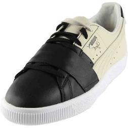 Puma Clyde Colorblock Sneakers - Black - Mens