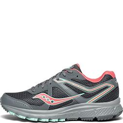 Saucony Women's Cohesion TR11 Sneaker, Grey/Peach, 9 M US