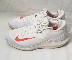 Nike Court Air Zoom Zero Tennis Shoes Men Sneakers White Cri