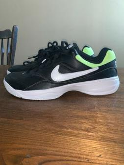 Nike Court Lite Men's Tennis Shoes Sneakers Black Racket  Si