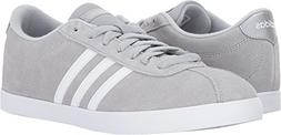 adidas Women's Shoes | Courtset Sneakers Light Onix/White/Me