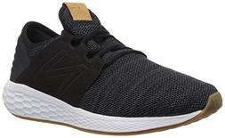 New Balance Women's Cruz V2 Fresh Foam Running Shoe, Black/W