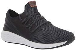 New Balance Men's Cruz V2 Fresh Foam Running Shoe, black/mag