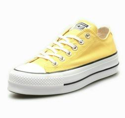 Converse CTAS Lift Ox Platform Butter Yellow 564385C Womens