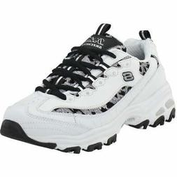 Skechers D'lites Fancy Leopard Training  Womens Training Sne