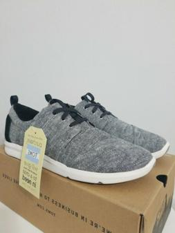 Toms Del Rey Women's Sneakers Chambray with Black Slub.