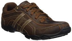 Skechers Men's Diameter Guy Thing Sneaker Dark Brown 8.5 M