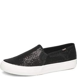 Keds Double Decker Mini Sequin Women 6.5 Black