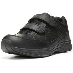 Dr. Scholl's Men's Brisk Wide Width Sneaker, Black, 8, 8.5,