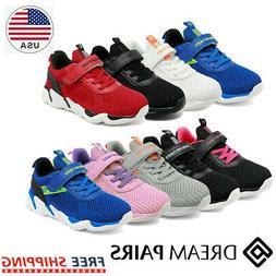 DREAM PAIR Sneakers Kids Girls Boys Sport Athletic Casual Wa