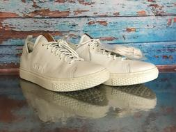 Polo Ralph Lauren Dunovin Men's Leather Sneaker Pearl White