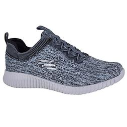 Skechers Elite Flex Hartnell Mens Slip On Sneakers Gray/Blac