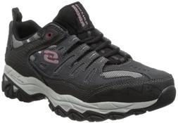 Skechers Sport Men's Afterburn Memory Foam Lace-Up Sneaker,C