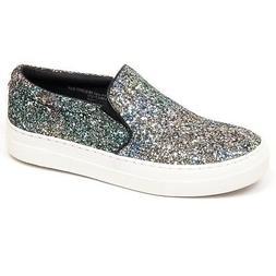 F1118 sneaker donna STEVE MADDEN GLORIANN scarpe glitter sli