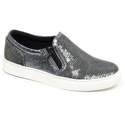 F1122 sneaker donna dark grey STEVE MADDEN scarpe paillettes